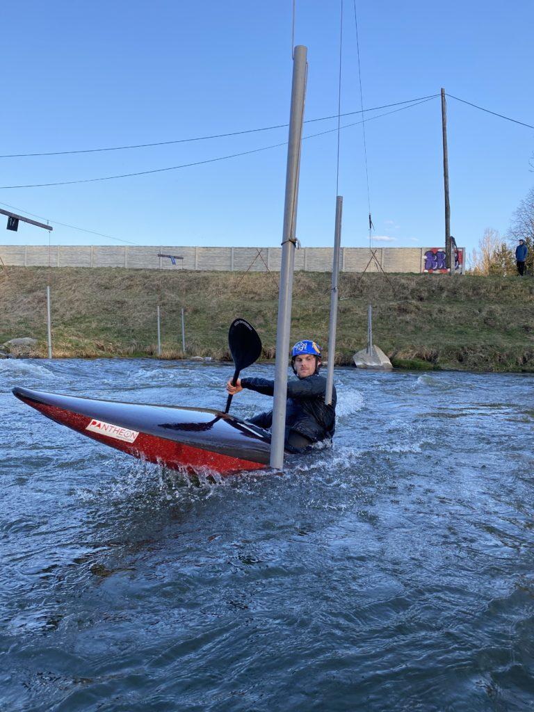 Dolny Kubin kayak trening