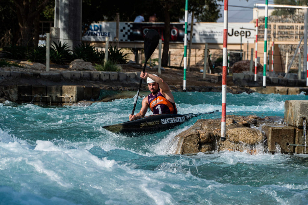 Martin Stanovsky kayak UAE
