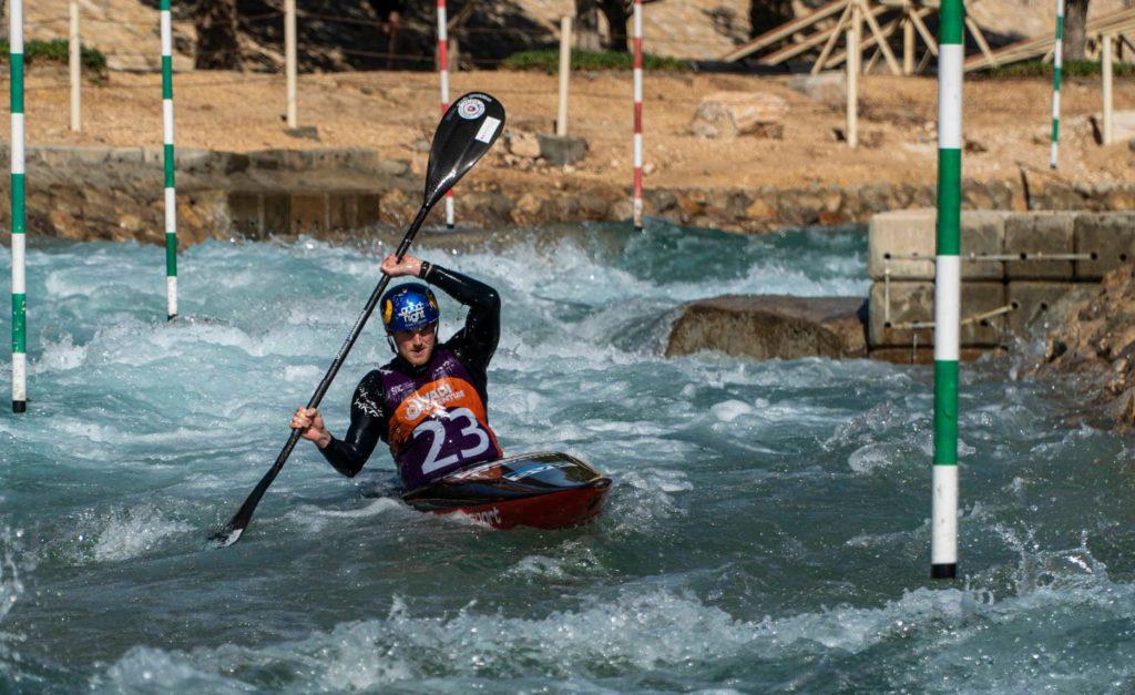 Jakub Stanovsky kayak UAE